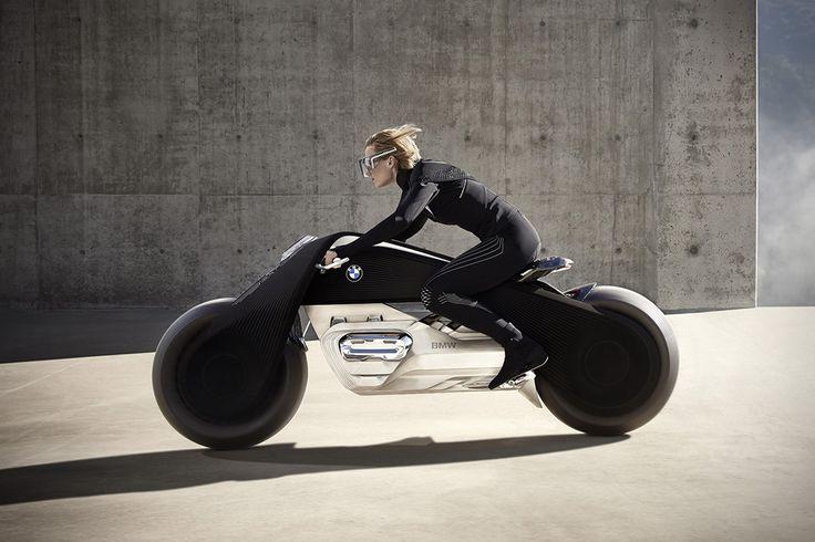 BMW Motorrad Vision Next 100 Concept Motorcycle 5