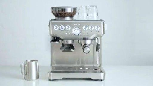 Breville Bes870xl Barista Express Espresso Maker Review In 2020 Percolator Coffee Coffee Percolator Coffee Maker