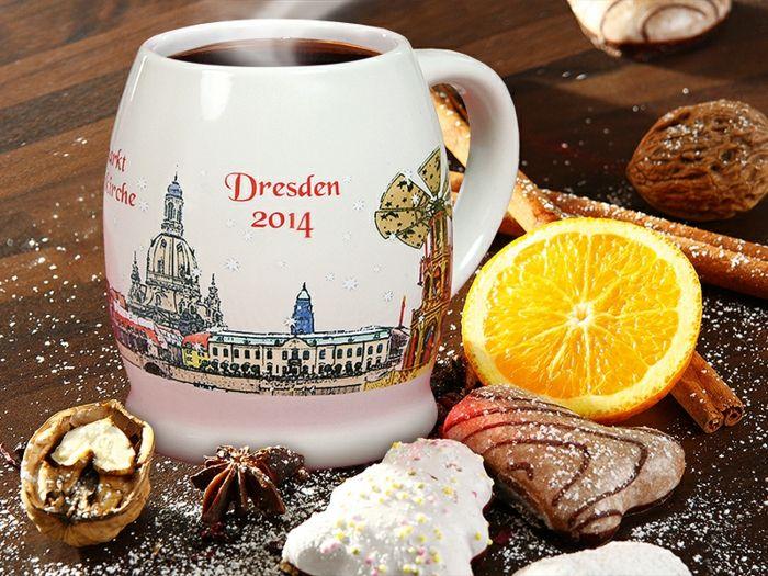 karácsonyi piac Dresden karácsonyi díszek gyönyörű karácsonyi piacokon Glühwein fűszeres