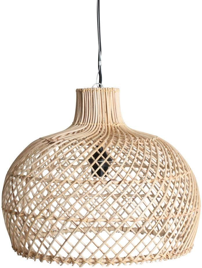 Hanglamp Maze - Rotan - Naturel - Small - One World Interiors