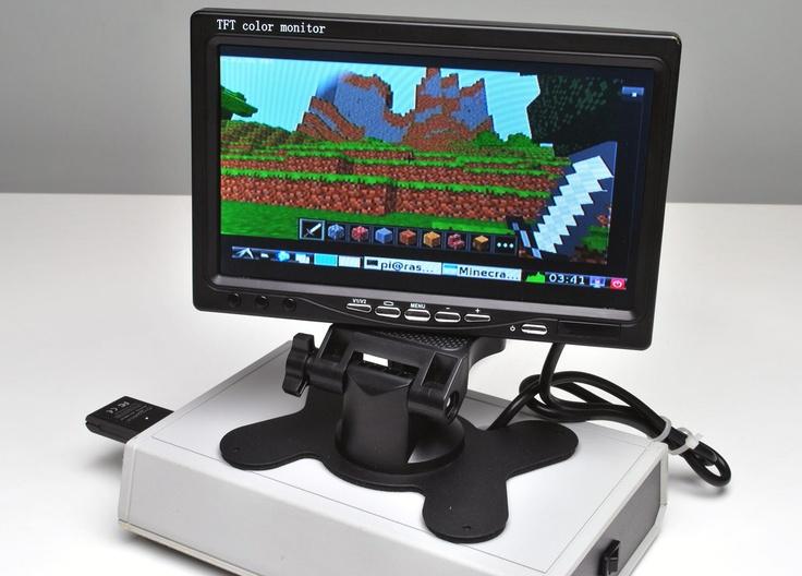 Raspberry Pi Mini Desktop PC  http://hothardware.com/Reviews/HOT-Raspberry-Pi-DIY-Mini-Desktop-PC-Build/