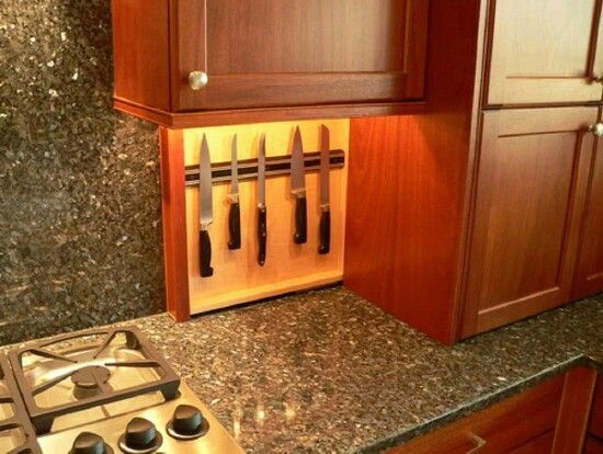 25+ Best Ideas About Knife Storage On Pinterest