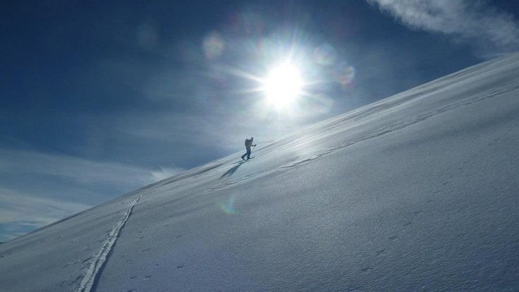 #Sci alpinismo in Val Sangone  www.anselmoutdoor.it #aboutvalsangone