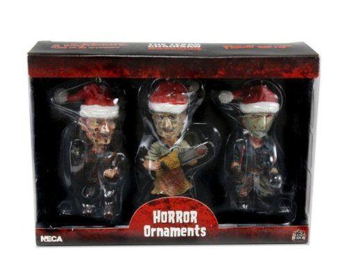 New Line Cinema Horror Ornaments Freddy Jason @ niftywarehouse.com #NiftyWarehouse #Horror #Movies #FridayThe13th #Jason