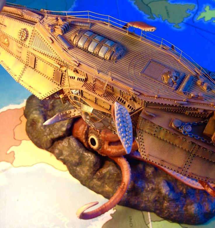 Pegasus model the Nautilus completed