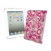 Vera Bradley Snap On Case for iPad in Paisley Meets Plaid SKU #12862128  | Fits iPad2 and the new iPad (third generation)     Attaches easily and securely to back of iPad      Works in conjunction with any smart cover      Lightweight, durable hardshell with glossy UV coating