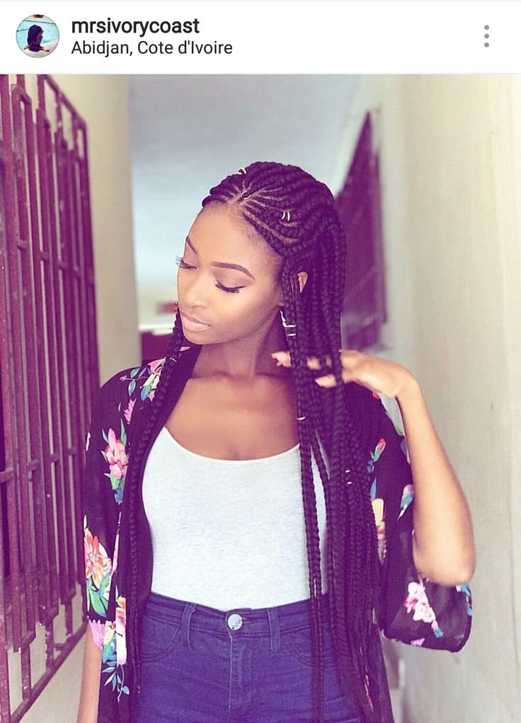 27 Braid And Cornrow Hairstyle Ideas African Braids