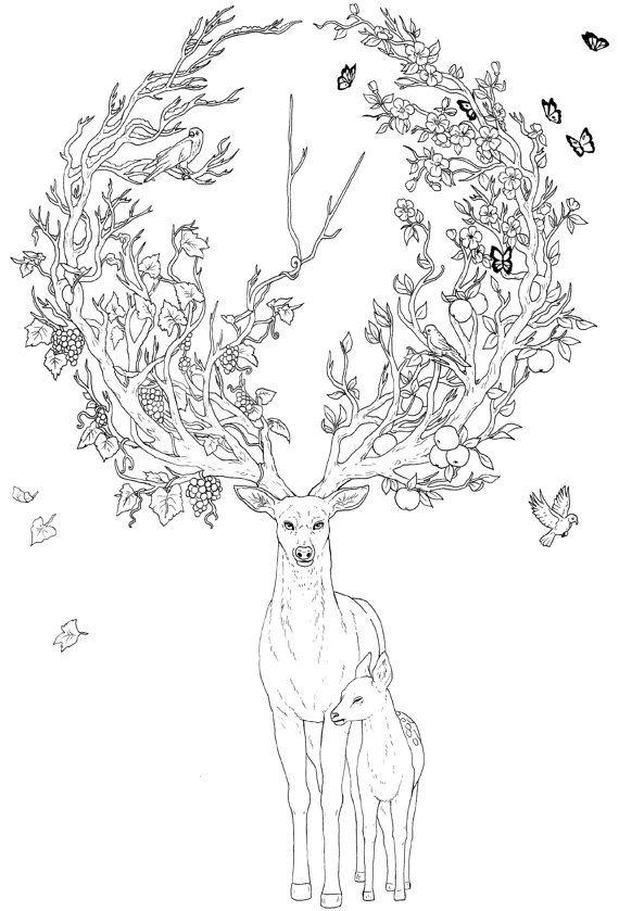 Vous cherchez un cadeau de Noël tendance? Notre TOUT NOUVEAU livre de coloriage «Crazy animaux» sera signé par moi et mon frère JoJoesArt à la main. Il comprend 14 linearts unique par nos soins, ainsi que plusieurs oeuvres colorées, il est donc à la fois un livre de coloriage et un