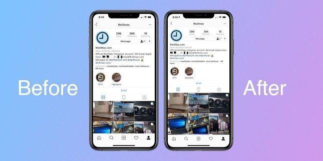 Instagram Perbarui Tampilan Di Iphone Xr Dan Xs Max Selular Id Cara Mengubah Whatsapp Android Jadi Iphone No Root Jalantikus Com Cara Iphone Ios Instagram