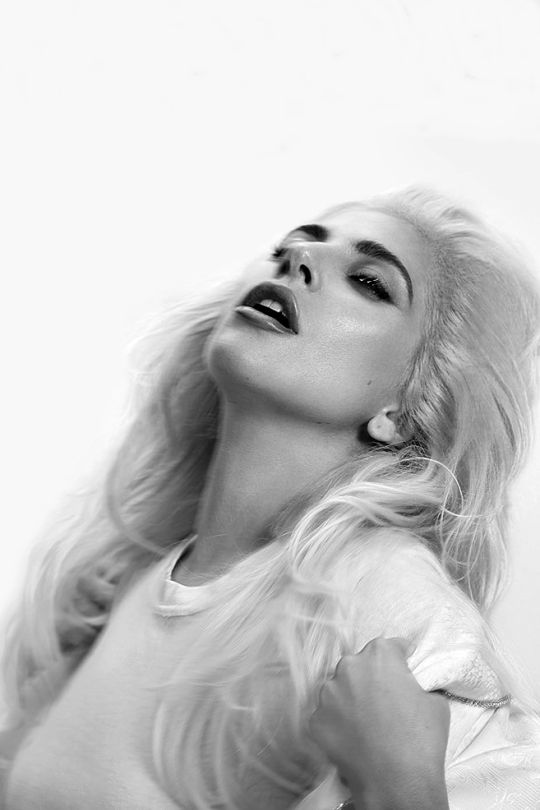 Lady Gaga photographed by Collier Schorr for Sunday Times Culture.