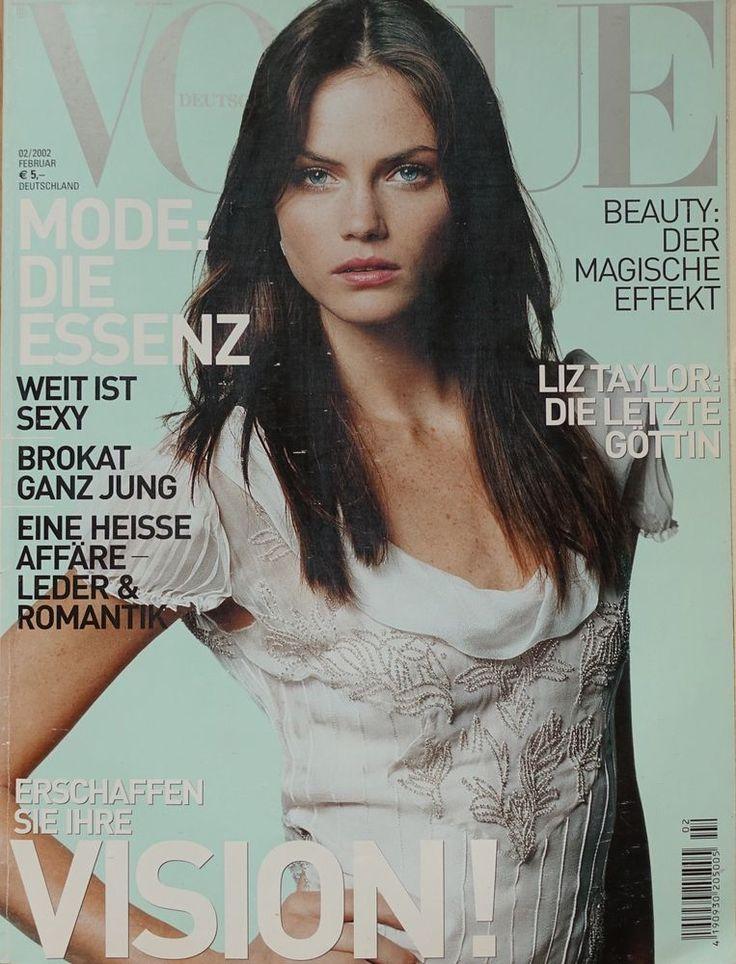 Mini Anden VOGUE Deutsch #2 2002 Heidi Klum Liz Taylor