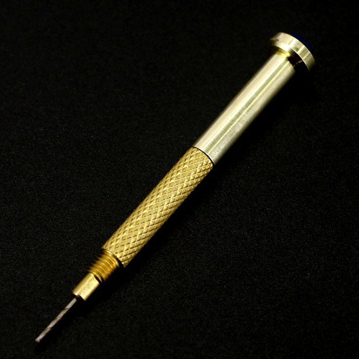 hot Nail rend nail punch drilling metal golden nail punch Piercing needle nail art tool