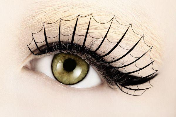 webbed lashesCostumes, Halloween Eye, Spider Webs, Eye Makeup, Eyelashes, Spiderweb, Halloween Makeup, Beautiful Photography, Spiders Web