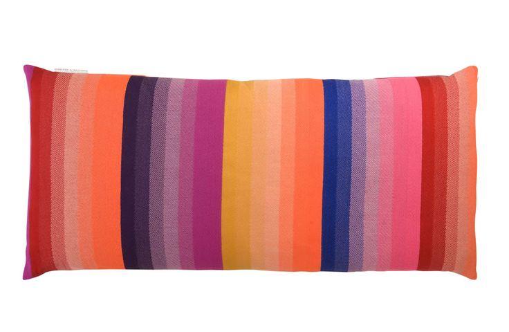 designer: scholten & baijings  material: wool, merino  colour cushion large     colourfull     40 x 88 cm    84% merino wool, 16% cotton
