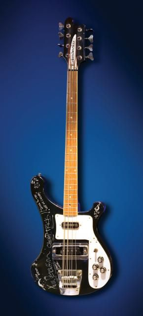 hard rock memorabilia, bass guitar, tom petersson cheap trick
