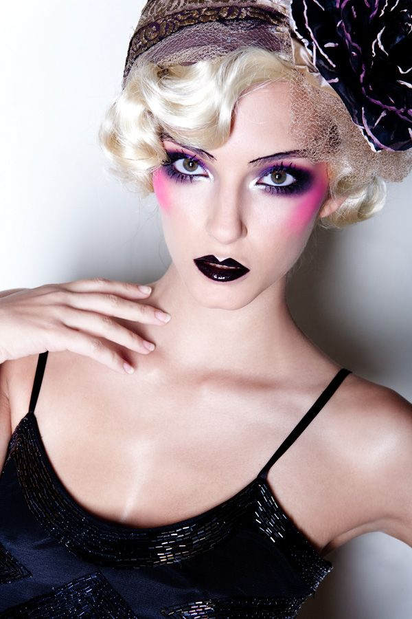 21 Best 1920's Inspired Make-up Images On Pinterest