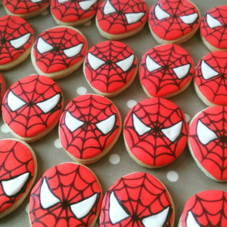 Spider-Man Cookies! @thelittlebakingco