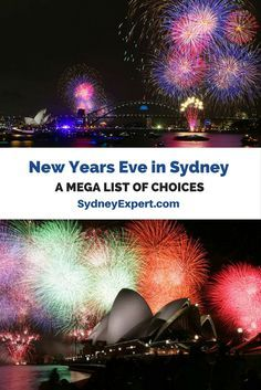 What is the best fireworks vantage point? Which restaurants have the best view? Should you go on a boat on the Sydney Harbour? When should you book your hotel? These tips and lots more. #Sydney #NYE