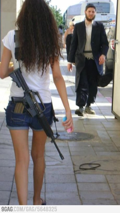 rifle single jewish girls I was here to report on jewish settlers, the 600,000 citizens of israel living beyond its pre-1967 rifle in hand, blocking my way not a single nation.