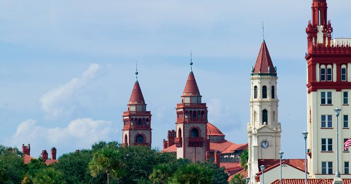 St. Augustine: Flagler College and the Cathedral Basilica