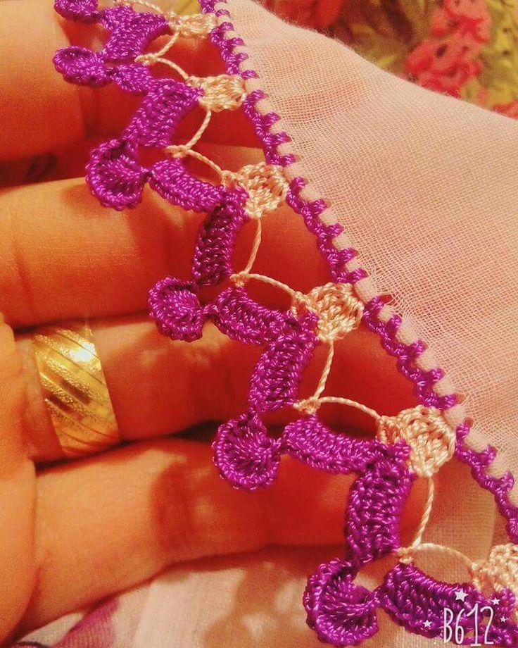 Kenar crochet işleme [] #