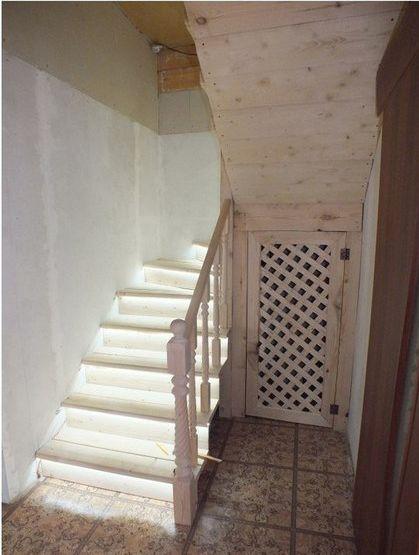 лестница из досок
