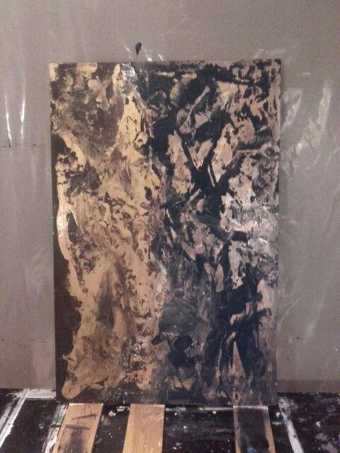 Acrylic on MDF