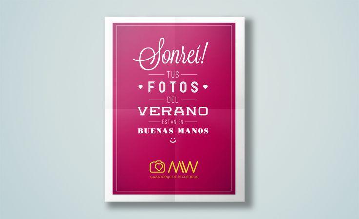 Dársena | Agencia Creativa | WM – Cazadoras de recuerdosIdentidad. diseño. poster. social media