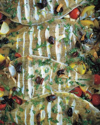 Lemon sole is a little bit of work to debone, etc but if you'll have it, this is not a bad recipe for it