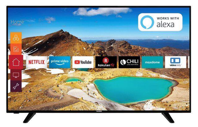 Led Fernseher 55 Zoll 4k Uhd Smarttv Hdr Xu58g521 In 2020 Led Video R Netflix