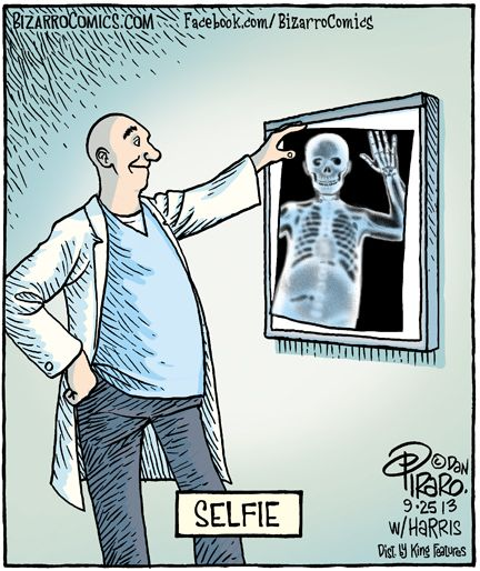 Photography Humor | Selfies | Created by Bizarro Comics