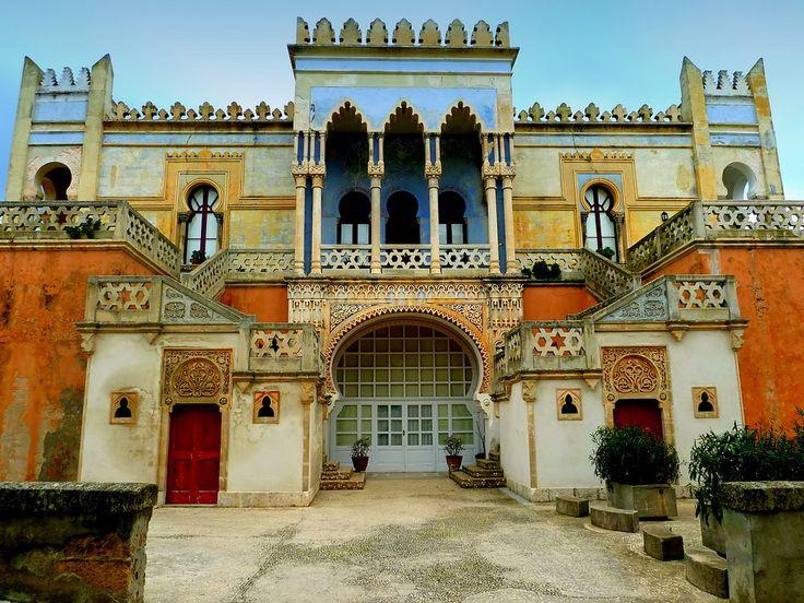 Moorish Palazzo Sticchi in Santa Cesarea Terme, Italy