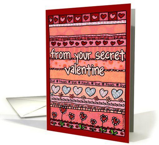 Do you have a secret Valentine?