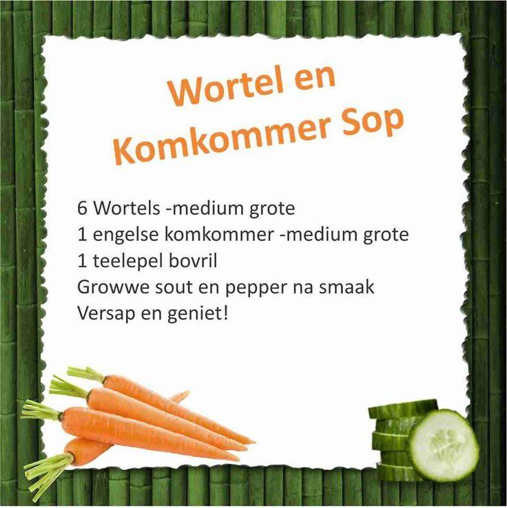 28 Dae Dieet | Wortel en Komkommer Sop | Dag 15