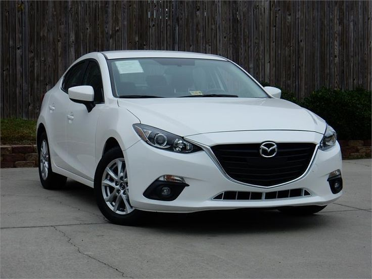 2015 MAZDA MAZDA3 TOURING for sale in Virginia Beach  22906 miles, White exterior color with a Black interior, 2.0L I4  FI  DOHC 16V Engine, Automatic Transmission