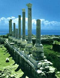 Five Millennia of History  Founded at the start of the third millennium B.C., Tyre originally consisted of a mainland settlement and a modest island city that lay a short distance off shore. But it was not until the first millennium B.C. that the city experienced its golden age.  In the 10th century B.C. Hiram, King of Tyre, joined two islets by landfill. Later he extended the city  further by reclaiming a considerable area from the sea. Phoenician expansion began about 815 B.C. when traders