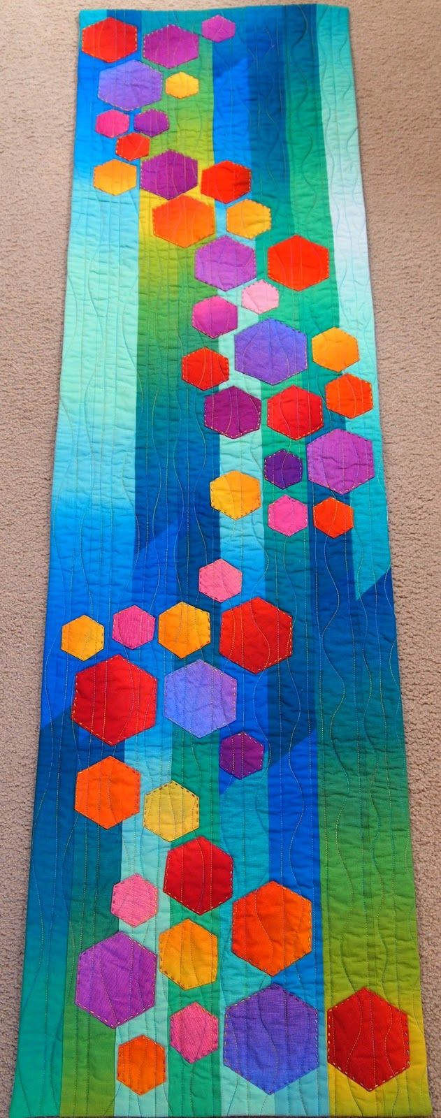 """Creating art quilts is how I can be """"plaid"""" in a """"striped"""" world."""