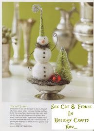 catandfiddlefolk: Sugarbowl Snowman on SpookytimeJingles