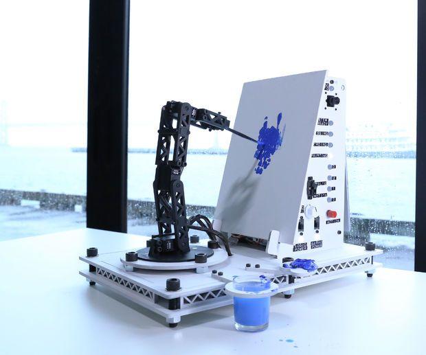 Pointillist Painting Robot Arm
