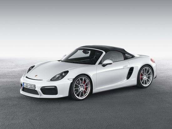 The 2016 Porsche Boxster Spyder Is Designed To Appeal To Purists