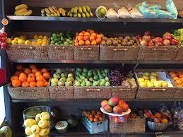 Resultado de imagen para cajas de frutas mostrador