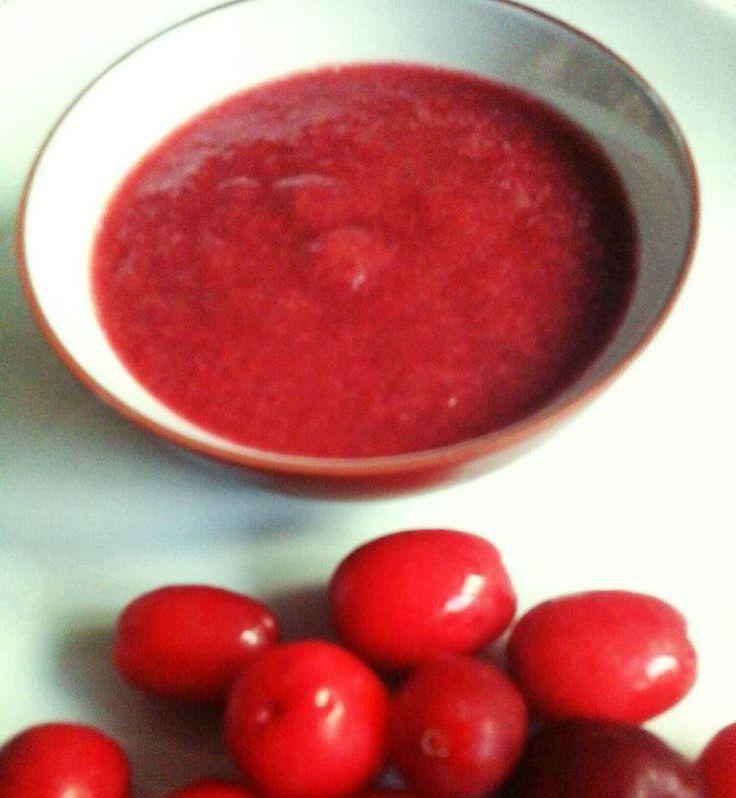 Kızılcık Marmelatı    -  Dilek Erol #yemekmutfak   Şimdi kızılcık zamanı, harika bir marmelat tarifi...