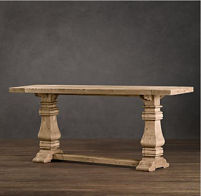 1000 ideas about console table decor on pinterest console tables consoles and rustic entry - Restoration hardware entry table ...