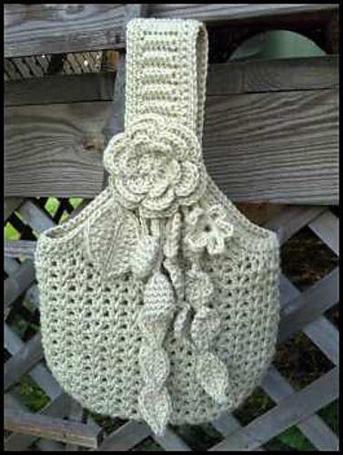 Victorian purse crochet pattern / Patrón de bolsito estilo victoriano en ganchillo