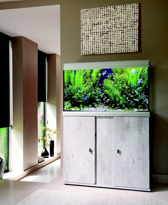 Un meuble pour votre aquarium tout en design aquarium for Meuble aquarium design