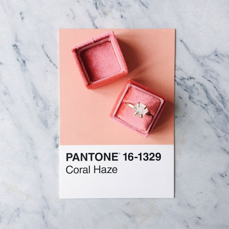 Coral Velvet Ring Box Handmade Wedding Vintage by SecretKeeperBox