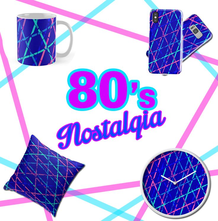 80's Nostalgia Gifts for All by emilypigou. Get   20% off all apparel. Use code DAYEIGHT   #colorful #pillow #clock #iphonecase #mug #39 #coffeemug #80s #nostalgia #retro #retro80s #1980 #1980style #samsunggalaxycase #floorpillow #homedecor #home #homegifts #pillow #kids #sales #discount #save #redbubble #style #gifts #lines #modern #livingroom #family #online #shopping #giftsforher #kids #xmasgifts #christmasgifts #kidsroom