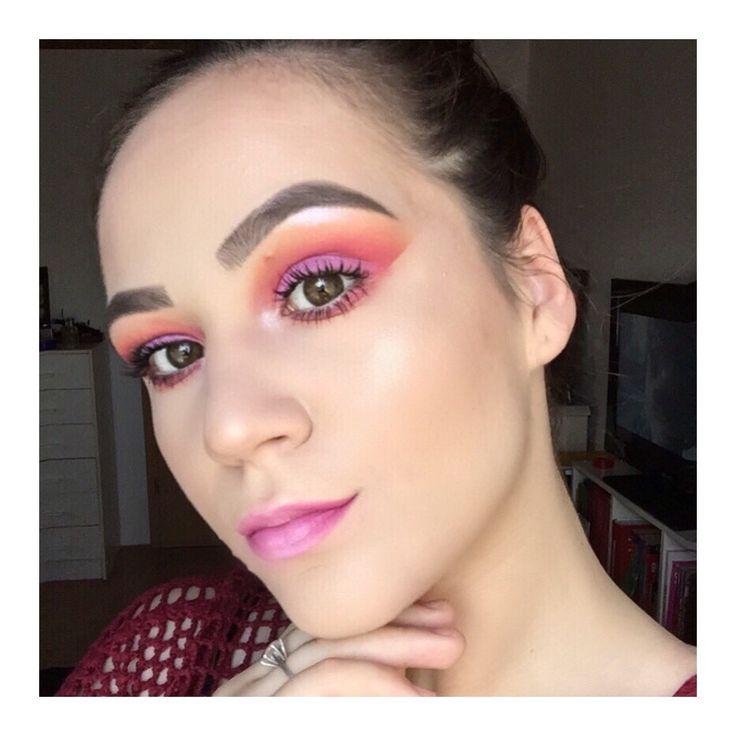 Summer-ish makeup look