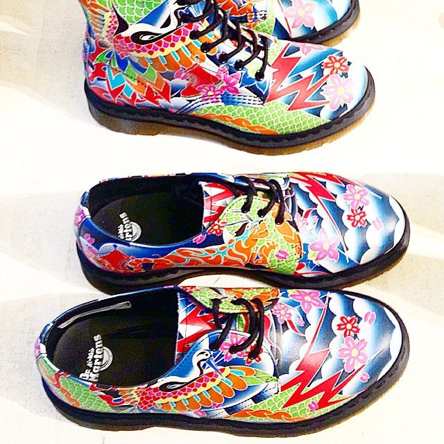 An explosion of colors for Dr. Martens! #drmartens #colors #shoes #new #ss15 #fashion #coolstuff