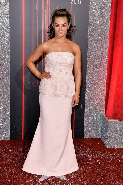 Isabel Hodgins attends The British Soap Awards at The Lowry Theatre on June 3, 2017 in Manchester, England. The Soap Awards will be aired on June 6 on ITV at 8pm.